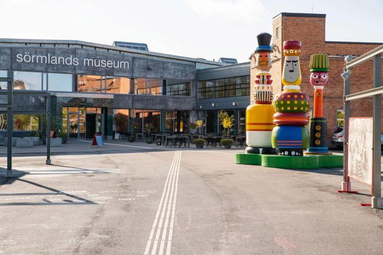 Entrén till Sörmlands museum i Nyköping.