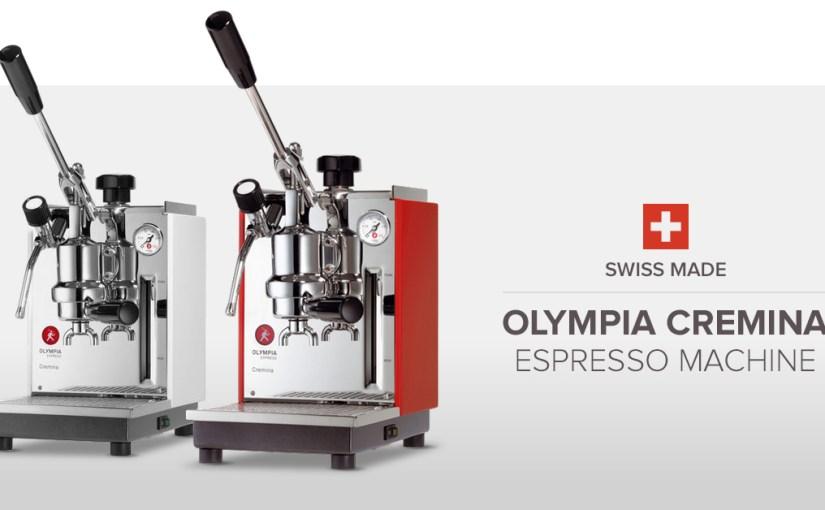 Verdensklasses espresso udstyr fra Schweiz
