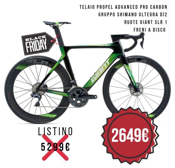 OFFERTA sconto GIANT PROPEL ADVANCED PRO DISC. Ristorcycles vendita giant e wilier a Torino e provincia