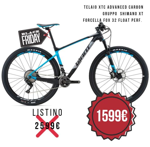 OFFERTA sconto GIANT XTC ADVANCED 29 1.5