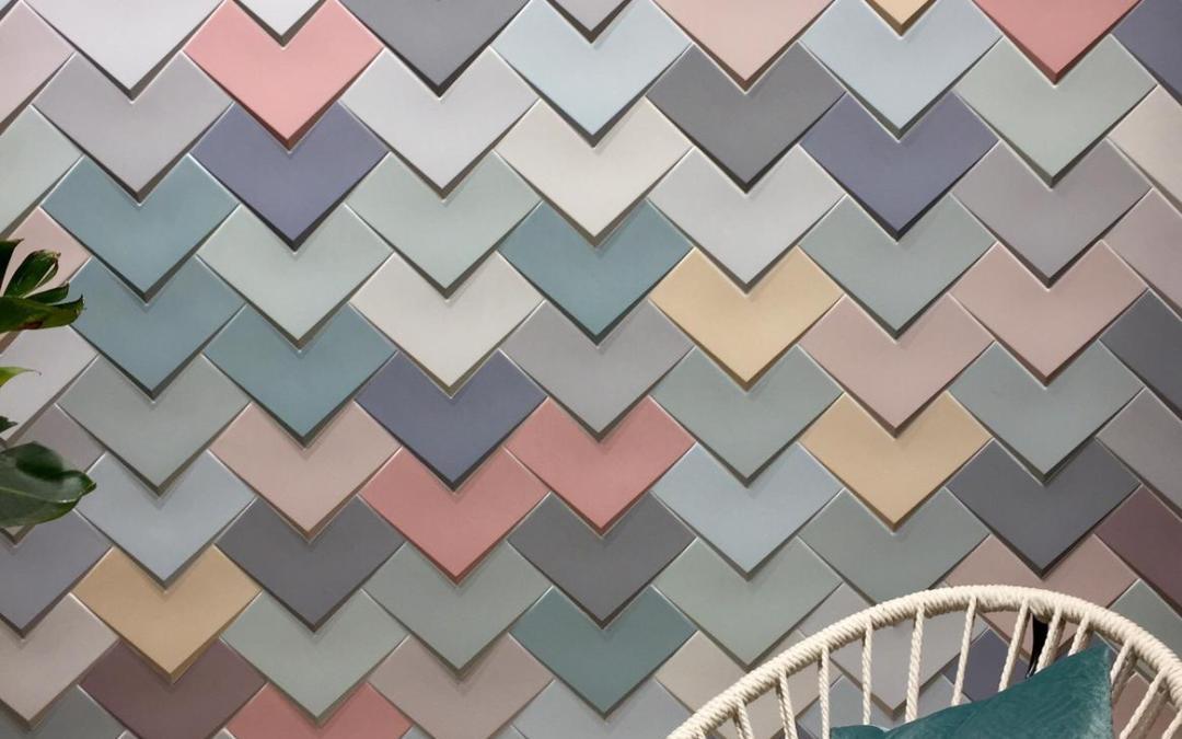 Cersaie 2018: un mosaico di colori, creatività, innovazione.