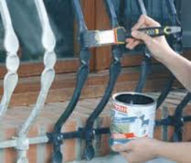 VERNICIATURA OPERE IN FERRO 09 www.ristrutturazionmilano.com
