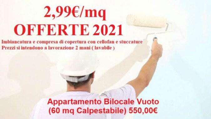 offerta-imbiancatura-appartamento-bilocale 2021