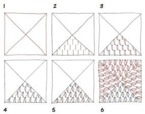 12.Дудлинг для начинающих схемы поэтапно