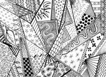 04.Дудлинг картинки: интересные рисунки дудлинг