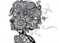 05.Дудлинг картинки: интересные рисунки дудлинг