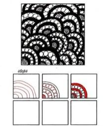 14.Дудлинг узоры: интересные узоры в технике дудлинг
