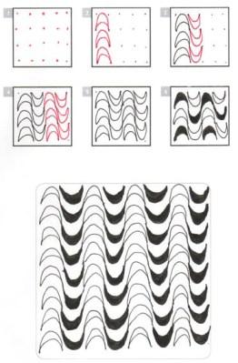 06.Как рисовать дудлинг поэтапно схемы