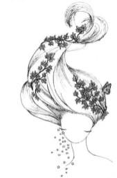 21.Картинки для срисовки для девочек: личный дневник