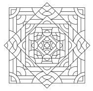 15.мандалы для раскрашивания распечатать