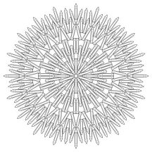 21.мандалы для раскрашивания распечатать