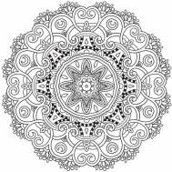 09.мандалы для раскрашивания распечатать