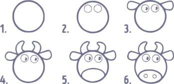 14.Поэтапное рисование для детей простые поэтапные рисунки