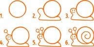 03.Поэтапное рисование для детей простые поэтапные рисунки