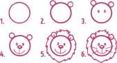 08.Поэтапное рисование для детей простые поэтапные рисунки