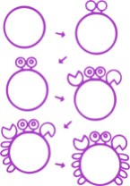 09.Поэтапное рисование для детей простые поэтапные рисунки