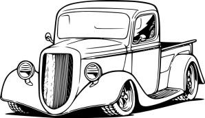 12.Раскраска машины для мальчиков распечатать
