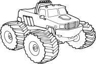06.Раскраска машины для мальчиков распечатать
