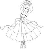 07.Раскраски для девочек распечатать бесплатно