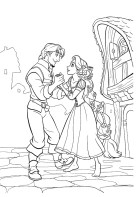 16.Раскраски для девочек распечатать бесплатно принцессы Диснея