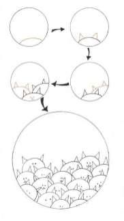 11.Рисуем прикольные картинки для срисовки