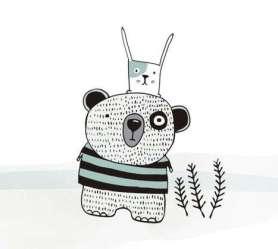 03.Рисунки животных для срисовки карандашом