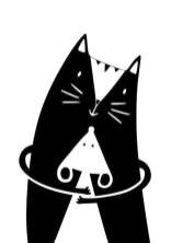 24.чёрно белые картинки для срисовки