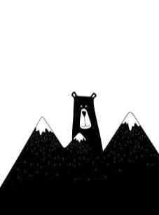 26.чёрно белые картинки для срисовки