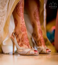 10.мехенди на ноге