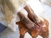 08.мехенди на ноге