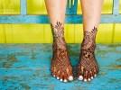 09.мехенди на ноге фото