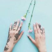 13.мехенди на руке