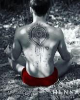 08.мехенди на спине