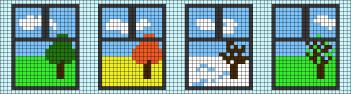 16.прикольные рисунки по клеточкам