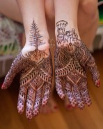 09.рисунки мехенди на руке