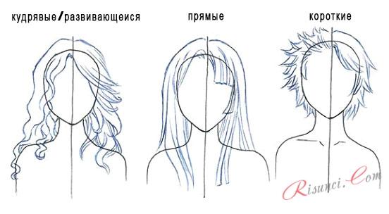 Шаш анимасының түрлері