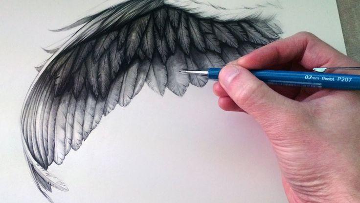 как нарисовать крылья фото 1