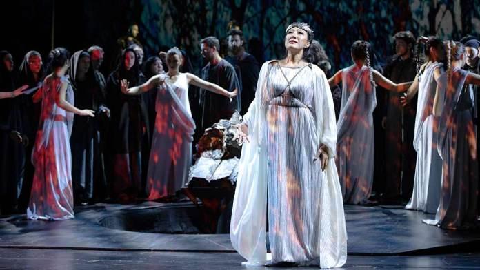 Una scena dell'Aida
