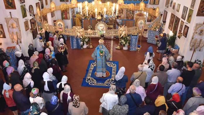 La celebrazione di domenica nella parrocchia ortodossa russa