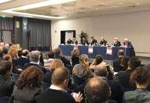 Monsignor Russo all'assemblea elettiva della Fisc di Roma