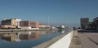 Veduta di Autorità Portuale dal Candiano