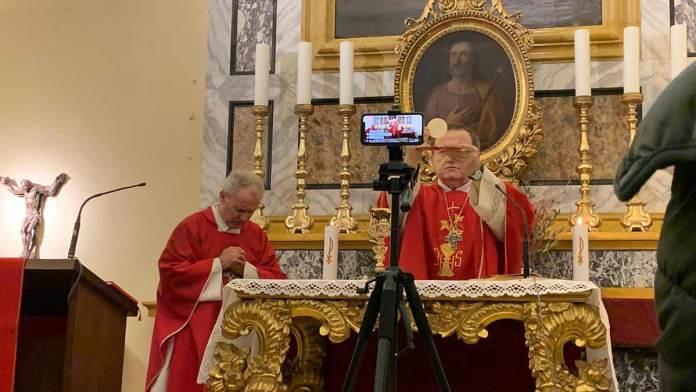La celebrazione in Cattedrale