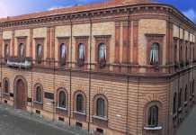 La sede centrale della Cassa di Risparmio di Ravenna
