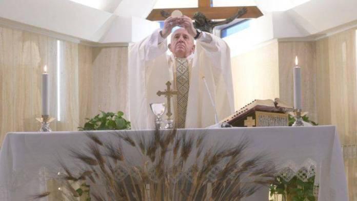 Il Papa a San ta Marta questa mattina
