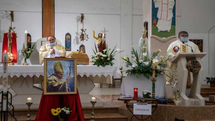 La Santa Messa a Casal Borsetti