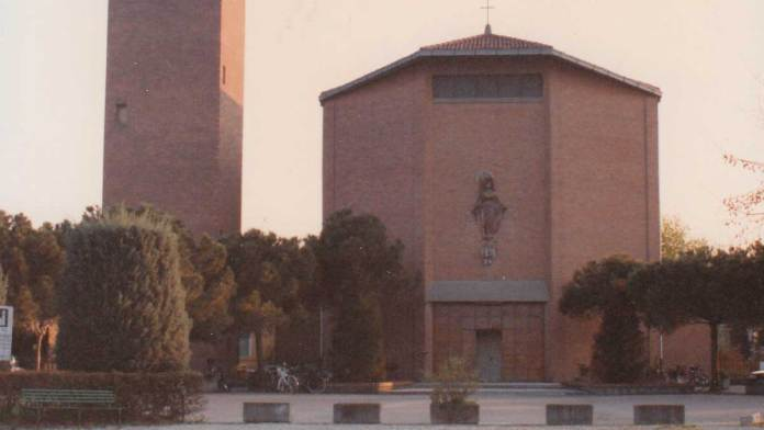 La chiesa di Marina di Ravenna