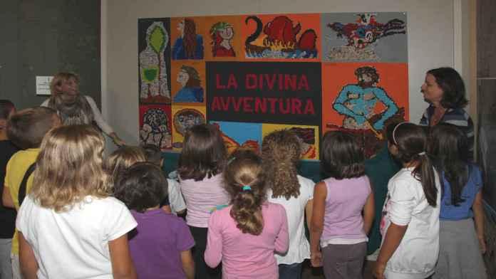 Un laboratorio per bambini dedicato a Dante