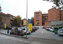 Il parcheggio di via Bezzi