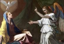 Nicolas Poussin, Annunciazione, Londra , National Gallery