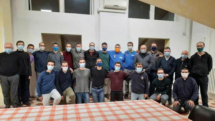Foto di gruppo dei seminaristi del Seminario Regionale